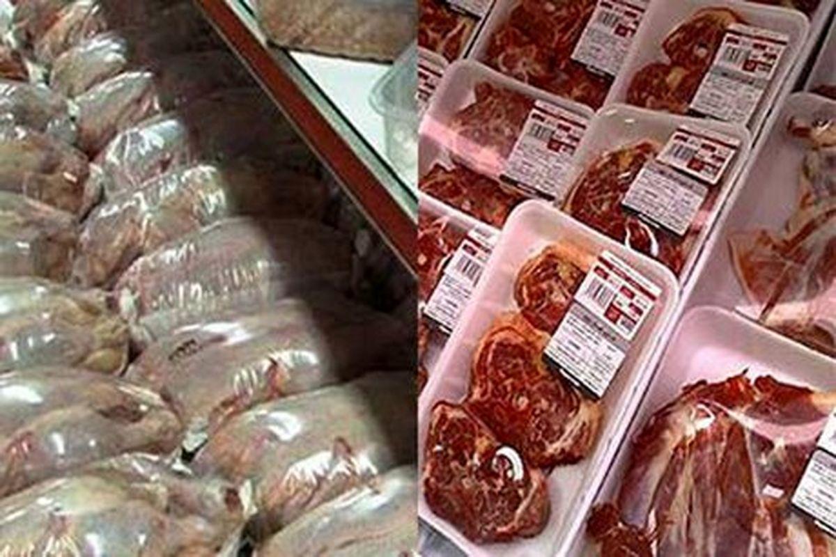 بازار گوشت و مرغ به همت بانک مرکزی و جهاد کشاورزی در آستانه نابودی